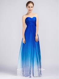 blue bridesmaid dresses ombre bridesmaid dresses 2017 wedding ideas magazine weddings