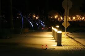 Bollard Landscape Lighting Bollard Lights For Landscape Lighting Home Decorating Ideas And