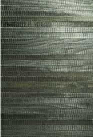 michiko green grasscloth wallpaper contemporary wallpaper by