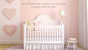 stickers citations chambre stickers chambre bébé comment habiller les murs