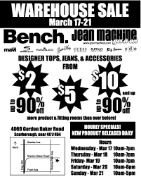 warehouse bench jean machine bench warehouse sale canadian freebies coupons