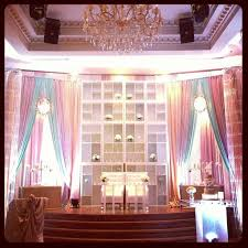 Bookcases With Lights Love The Bookcases With Lights Wedding Backdrop Ceilings