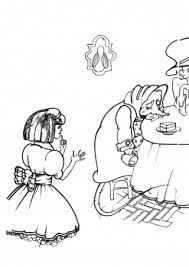 alice wonderland colouring pictures coloring pages