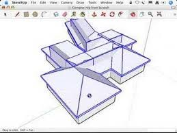 framing complex roofs u0026 sketchup complex hip roofs and the follow