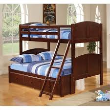 Cherry Bunk Bed Coaster Panel Bunk Bed In Brown Cherry