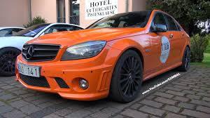 mercedes amg orange orange mercedes c63 amg v8 exhaust notes