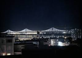 Bay Bridge Light Show An Animated View Of The Bay Lights San Francisco Myd Blog
