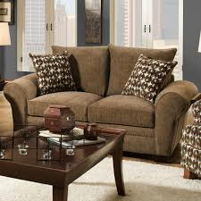 Drawing Room Furniture Catalogue Traditional Styled Loveseat With Comfortable Look For Casual