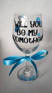 godmother wine glass godfather godmother personalized stemless wine glasses custom