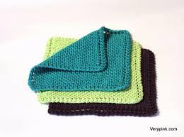 learn to knit a dishcloth v e r y p i n k c o m knitting