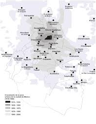 download map of mexico city area major tourist attractions maps