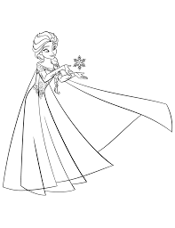 elsa coloring pages download print free