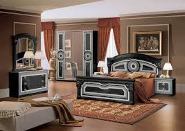 Black Armoire Black And Silver Bedroom Set 1 Door Mirrored Corner Wardrobe