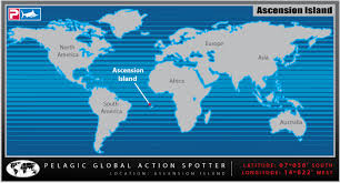 ascension islands map the waterman s journal global sportfishing news reports and