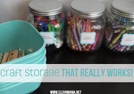 Storage Solutions For Craft Rooms - craft room archives clean mama