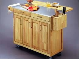 kitchen rolling island french country natural kitchen cart with