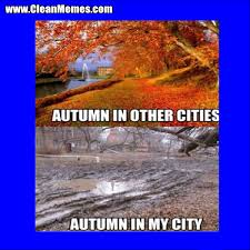 Autumn Memes - autumn in other cities clean memes