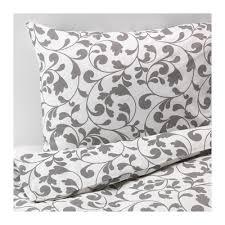 Duvet Sets Ikea Rostvin Duvet Cover And Pillowcase S White Gray Duvet Quilt