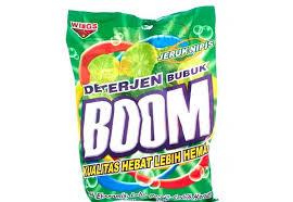 Sabun Boom jual sabun cuci deterjen bubuk wings boom detergent bubuk 400 di