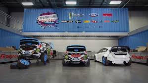 hoonigan cars ken block gives ford racing exclusive behind the scenes tour of