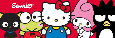 sanrio kitty designs phone laptop gaming device