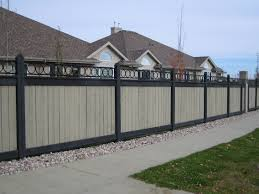 fence beautiful garden fence metal backyard privacy screens