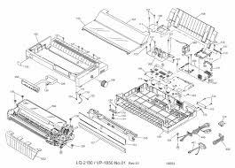 epson lq 2180i parts catalogue