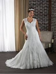 plus size wedding dresses with lace sleeves curvyoutfits com
