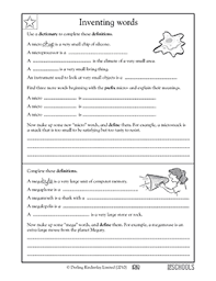 free printable 5th grade writing worksheets word lists and