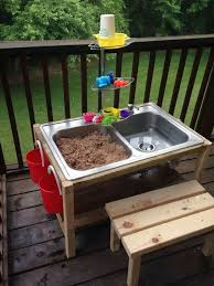 10 fun outdoor mud kitchens for kids garden pallet mud kitchen