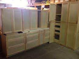 shaker style kitchen pantry cabinet new 12 birch cabinet set bud s warehouse