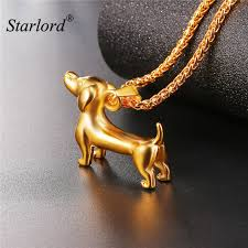 dog necklace pendant images Starlord animal pet dachshund dog necklace pendant sausage dog jpg