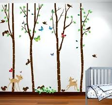 Nursery Wall Tree Decals Tree Decal Tree Nursery Wall Decal Family Tree Decal With Picture