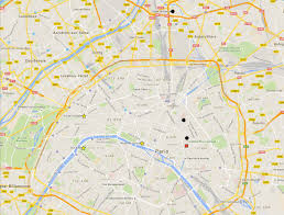 Rouen France Map by Paris Attacks This Map Shows Where The Attacks Happened Time Com