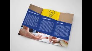 adobe tri fold brochure template high quality templates part 3