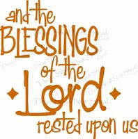 thanksgiving quotes vinyl wall quote about blessings