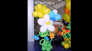 Balloon Decoration Ideas For Kids Party At Home Youtube