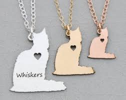 Personalized Cat Necklace Personalized Cat Pillow Pet Memorial Stuffed Cat Picture