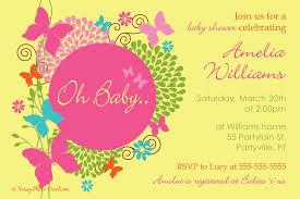 Butterfly Invitations Butterfly Invitation Wording Alesi Info