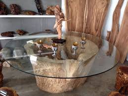 dining gorgeous tree stump coffee tables collection tree trunk