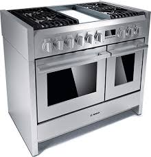 Bosch Cooktops Bosch Range Stainless Steel Solitaire Cooker
