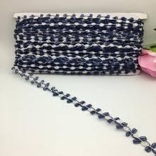 navy lace ribbon chiffon flower lace trim chiffon flower lace trim suppliers and