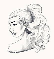 balck rose digital sketch by lusc fire on deviantart