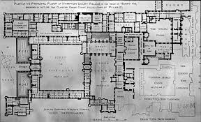 Palace Floor Plans File Architectural Plans For Hampton Court Palace England