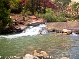 Utah wild swimming images Virgin river swimming hole zion national park utah mountain jpg