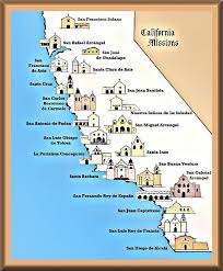 california map project california missions project web tools for the elementary educator