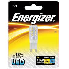 2 watt g9 led capsule light bulb warm white