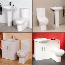 900mm curved bathroom vanity unit with basin and toilet ebay
