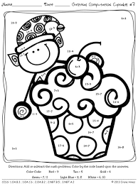 first grade christmas coloring sheets u2013 festival collections