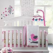 Sears Crib Bedding Sets Birds Of A Feather 5 Pc Crib And Wall Decal Set